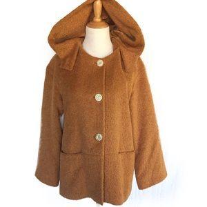Teddy Bear Coat Tan caramel Brown medium
